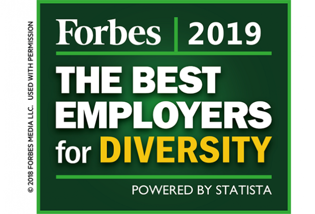 Forbes - 2019 Best Employers for Diversity